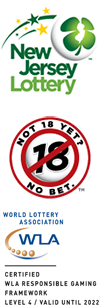 New Jersey Lottery - Not 18, Not bet - WLA Level 4 Certification
